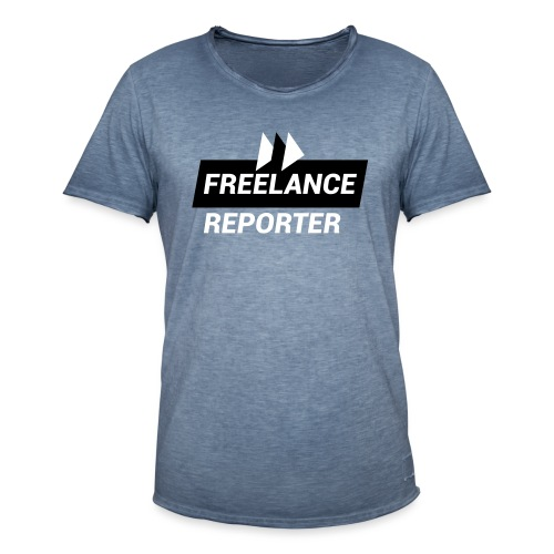 Freelance Reporter - Maglietta vintage da uomo