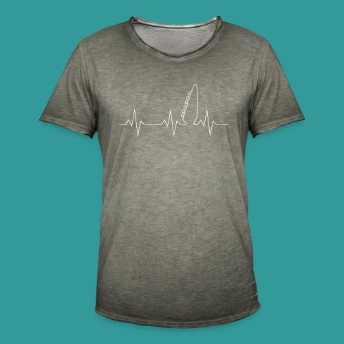 Guitar Pulse - Men's Vintage T-Shirt