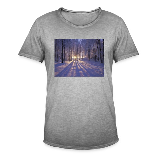 Wintercollectie - Mannen Vintage T-shirt