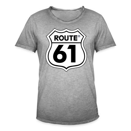 Route 61 - Mannen Vintage T-shirt