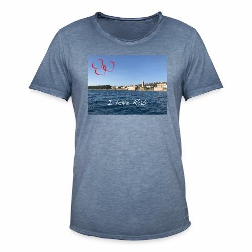 I love Rab - Männer Vintage T-Shirt