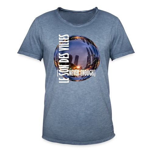 Le Son Des Villes :world - T-shirt vintage Homme