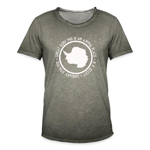 Great God! - Men's Vintage T-Shirt