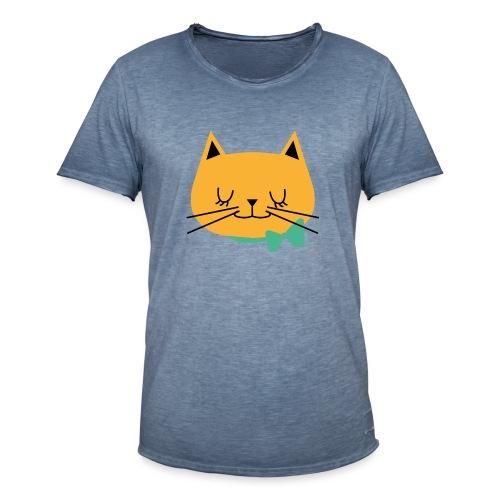 cat - T-shirt vintage Homme
