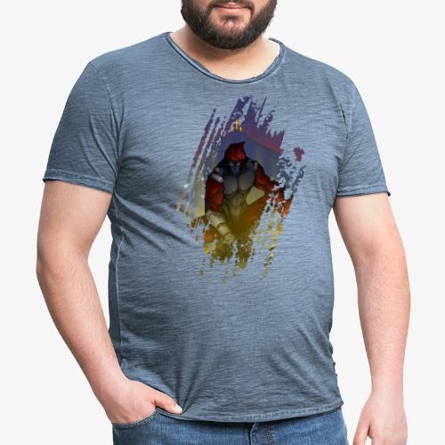 GA - Camiseta vintage hombre