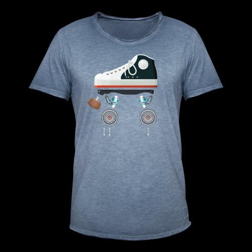 Rollerskates scherm - T-shirt vintage Homme