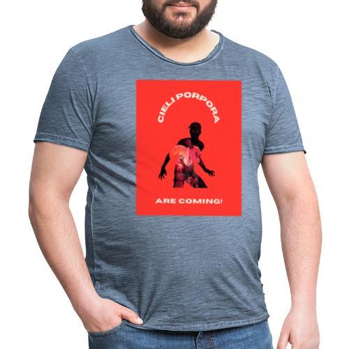 Cieli Porpora are coming! - Maglietta vintage da uomo