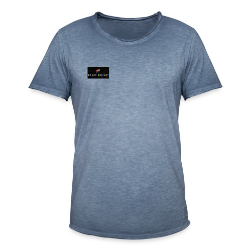 BK Colourful Chameleon - Men's Vintage T-Shirt
