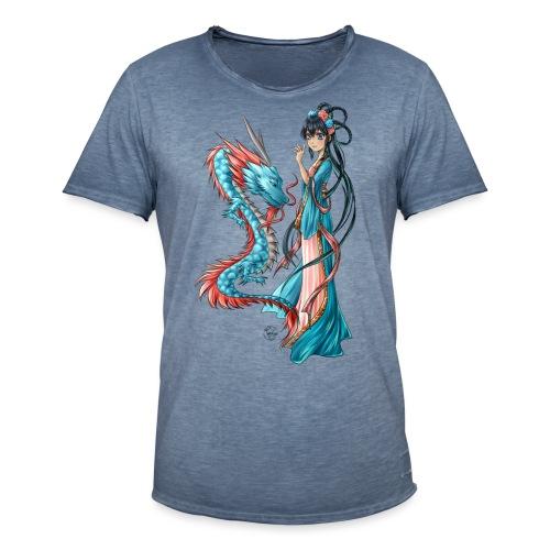 Blue Dragon - T-shirt vintage Homme