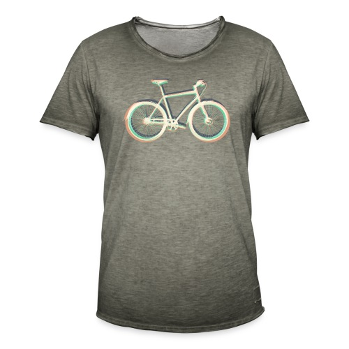 Fahrrad Bike Outdoor Fun Radsport Radtour Freiheit - Men's Vintage T-Shirt
