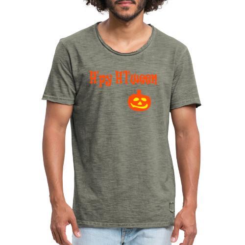 Happy Halloween - Männer Vintage T-Shirt
