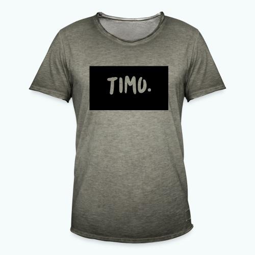 Ontwerp - Mannen Vintage T-shirt