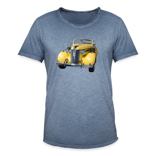 Gele klassieke auto1920 - Mannen Vintage T-shirt