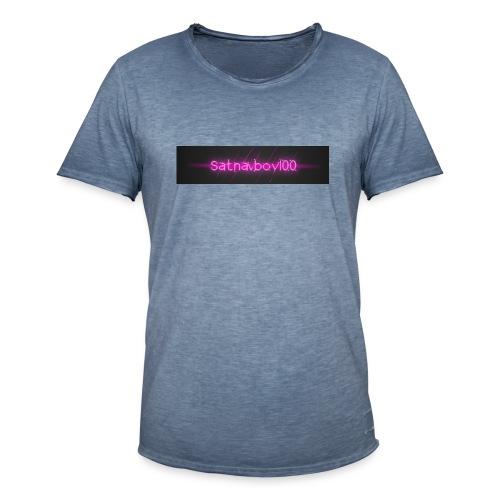 Satnavboy100 Shirt - Men's Vintage T-Shirt