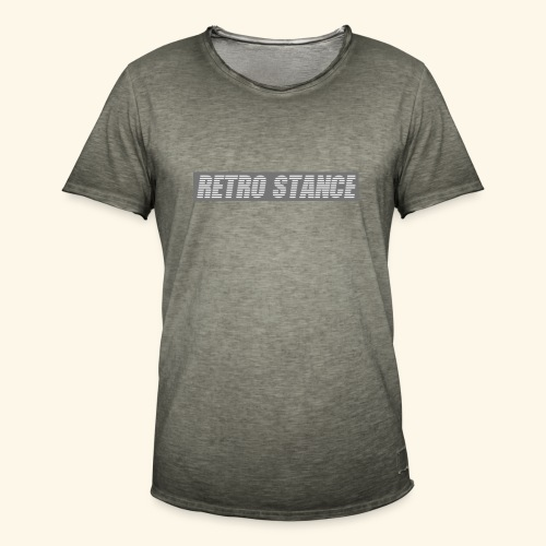 Retro Stance - Men's Vintage T-Shirt