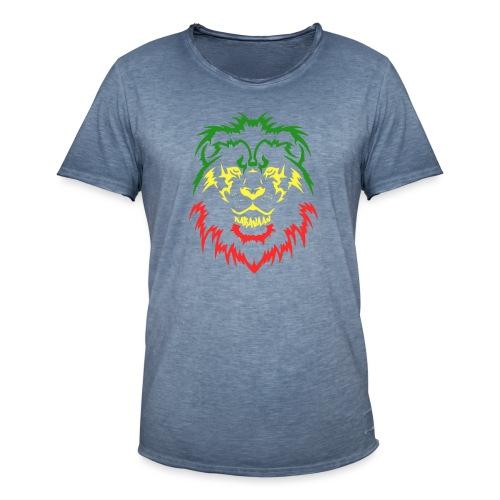 KARAVAAN Lion Reggae - Mannen Vintage T-shirt