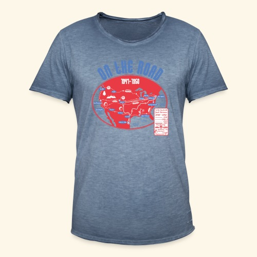 TShirtOntheRoad copy - Camiseta vintage hombre
