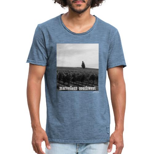 marvellous southwest - Männer Vintage T-Shirt