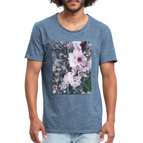 Vetement avec image fleurs de sakura - T-shirt vintage Homme