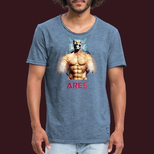 STRONG DEVIL - T-shirt vintage Homme