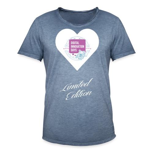 Heart Digital Innovation Days - Maglietta vintage da uomo