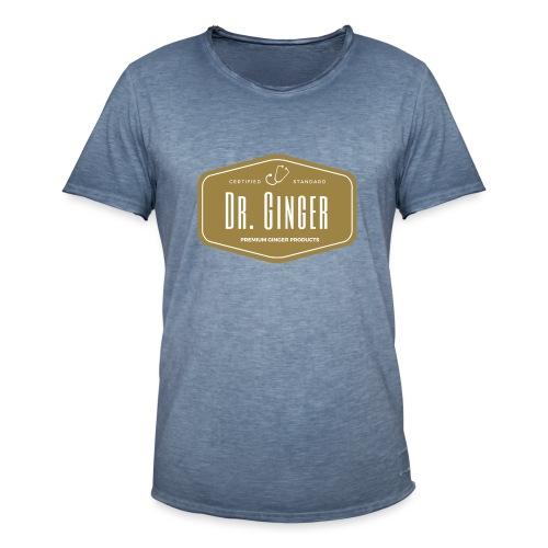 Dr. Ginger - Männer Vintage T-Shirt