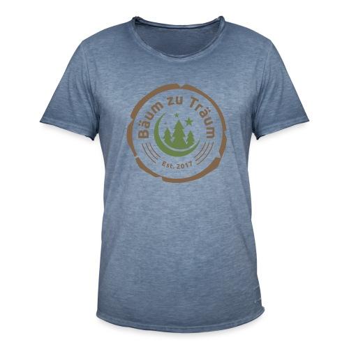 Bäum zu Träum - Männer Vintage T-Shirt