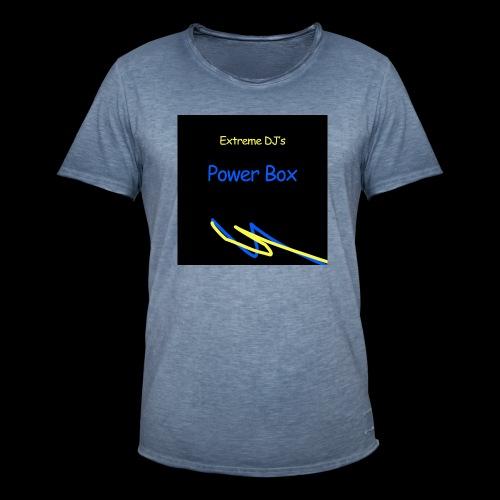powerbox - Miesten vintage t-paita