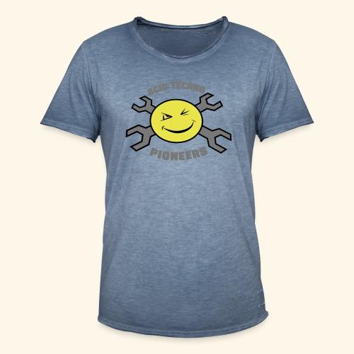 ACID TECHNO PIONEERS - SILVER EDITION - Men's Vintage T-Shirt