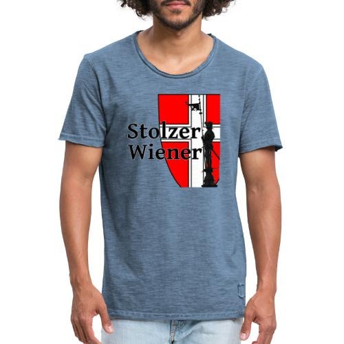 Stolzer Wiener - Männer Vintage T-Shirt