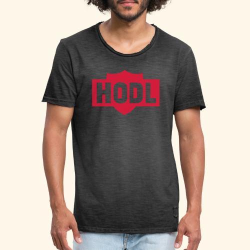 HODL TO THE MOON - Miesten vintage t-paita
