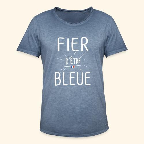 Football féminin Fier d'être bleue - Homme - T-shirt vintage Homme