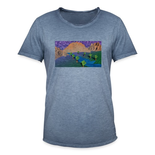 Silent river - Men's Vintage T-Shirt