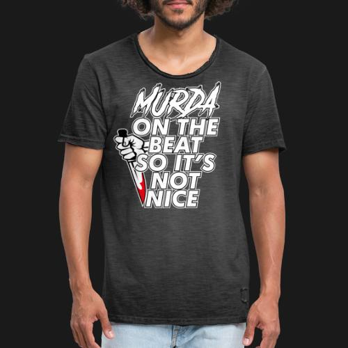 Murda on the beat - T-shirt vintage Homme