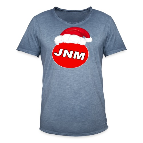 JustNotMe kerst merch - Mannen Vintage T-shirt