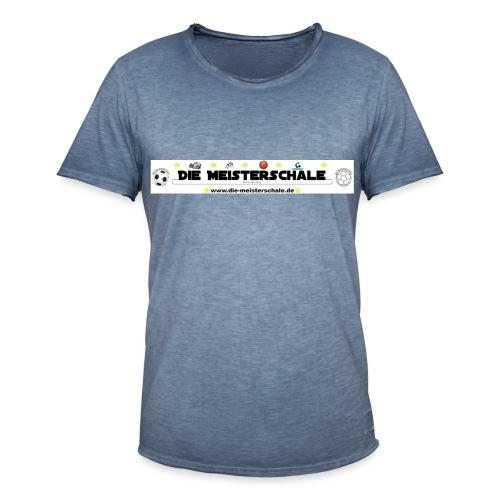 Die Meisterschale Logo Banner Werbung jpg - Männer Vintage T-Shirt