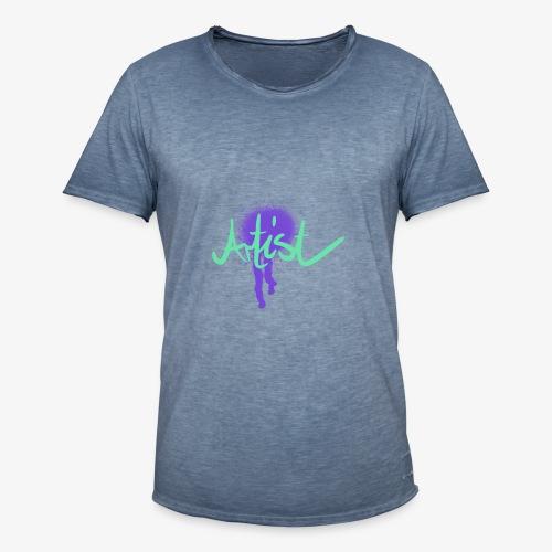 Artist Splash - Männer Vintage T-Shirt