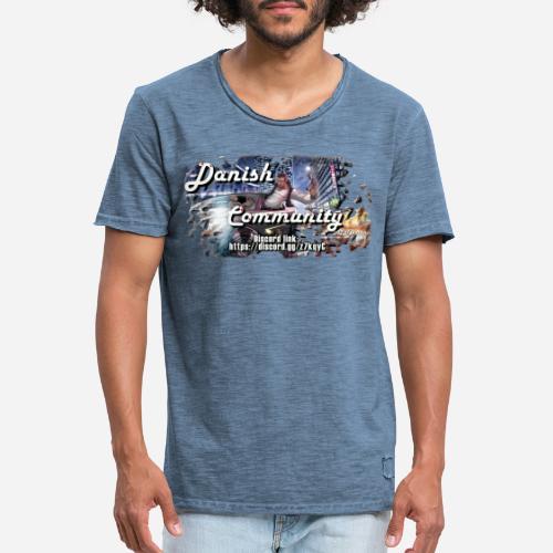 Dansih community - fivem2 - Herre vintage T-shirt