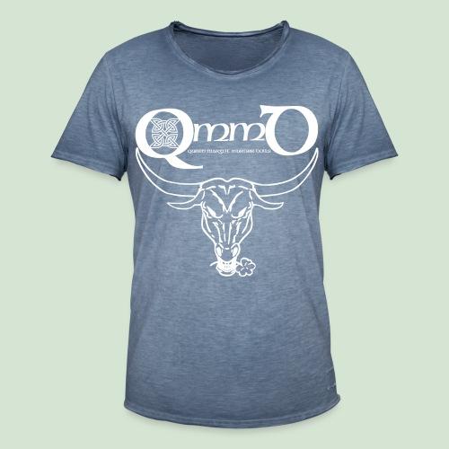 Logo & Bull's Head II - Männer Vintage T-Shirt