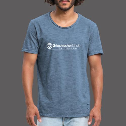 Griechische Schule Vaihingen e.V. - Männer Vintage T-Shirt