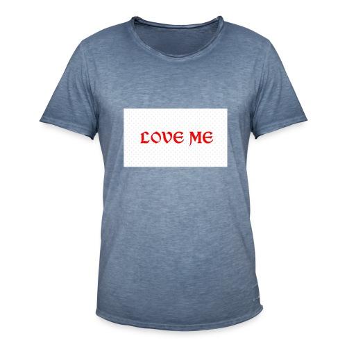 Love - T-shirt vintage Homme