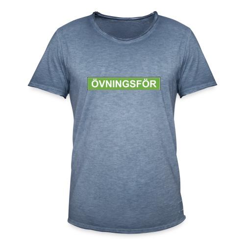 ÖVNINGSFÖR - Vintage-T-shirt herr