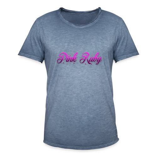 Pink Ruby - Vintage-T-shirt herr