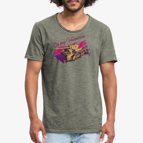 Be my Valentine Tank - Männer Vintage T-Shirt