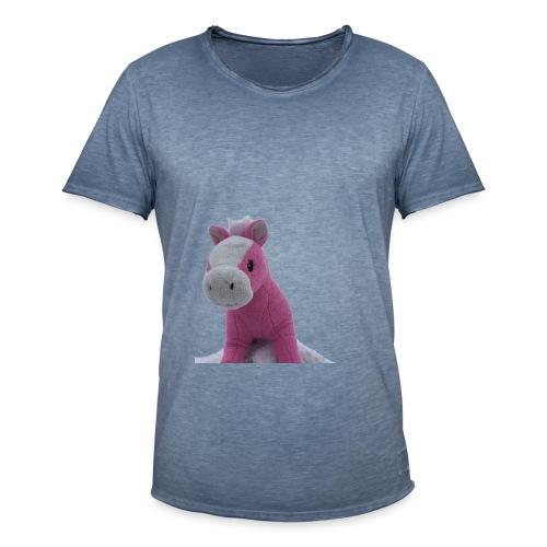 haukkari - Miesten vintage t-paita