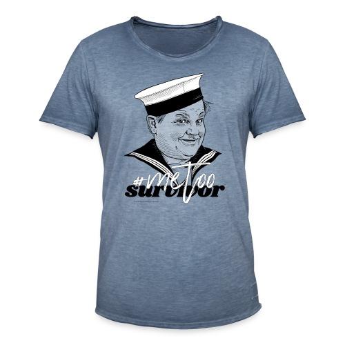 #metoo survivor - Herre vintage T-shirt