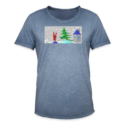 christmas - Men's Vintage T-Shirt