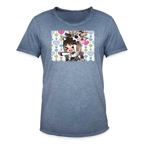 Urodzinowa Yuki! - Koszulka męska vintage