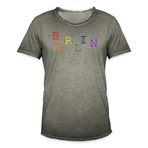 Berlin Rainbow #1 - Männer Vintage T-Shirt