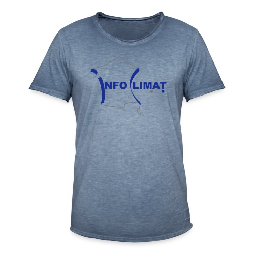 logo simplifié - T-shirt vintage Homme